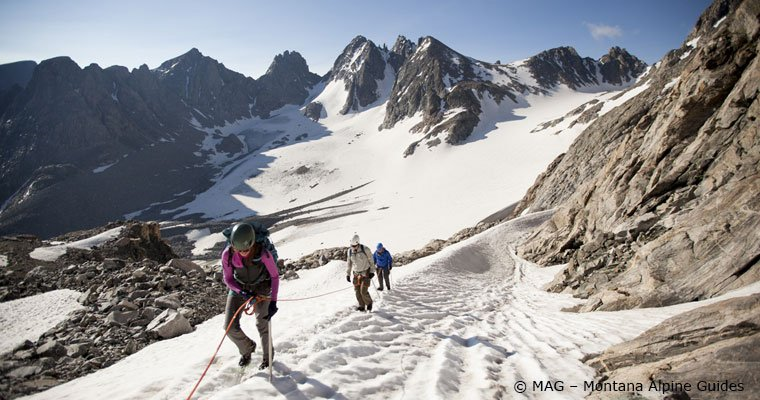Gannett Peak Trip by Montana Alpine Guides