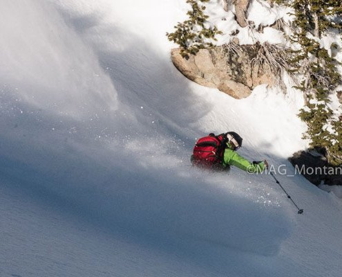 backcountry ski photo