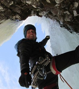 Sam Hennessy, ice climbing, hyalite canyon