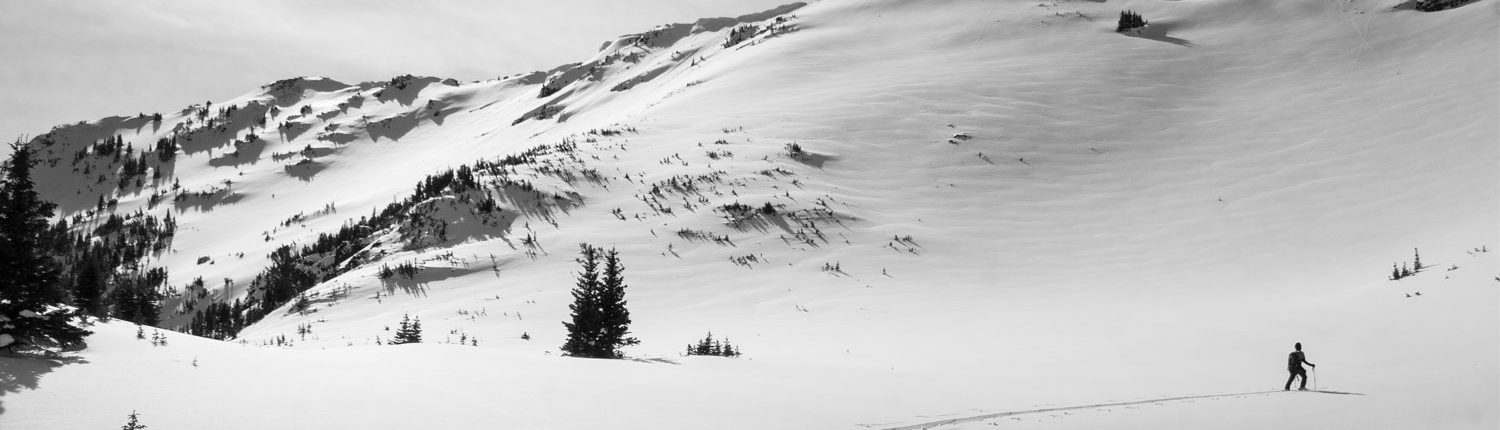 Backcountry Skiing, ski touring, avalanche education, Montana Alpine Guides