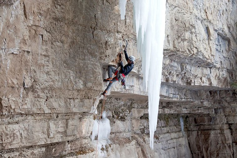 mixed climbing, cody, wyoming, ice climbing, climbing guides, scarpa, montana alpine guides