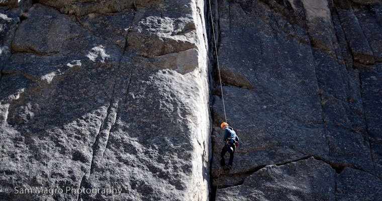 Top Rope Soloing Montana Alpine Guides