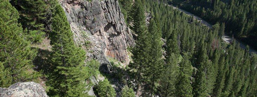 Climbing, Rock, Gallatin Canyon, Bozeman, Big Sky, Montana, The Waltz, Multi-pitch climbs, Climbing guides, Montana Alpine Guides