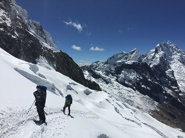 Alpamayo, Peru, Climbing Guides, Montana Alpine Guides