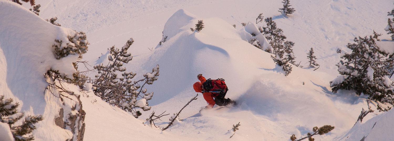 Backcountry Skiing, Bozeman, Big Sky, Montana Alpine Guides, Ski guides, Backcountry ski guides, powder turns