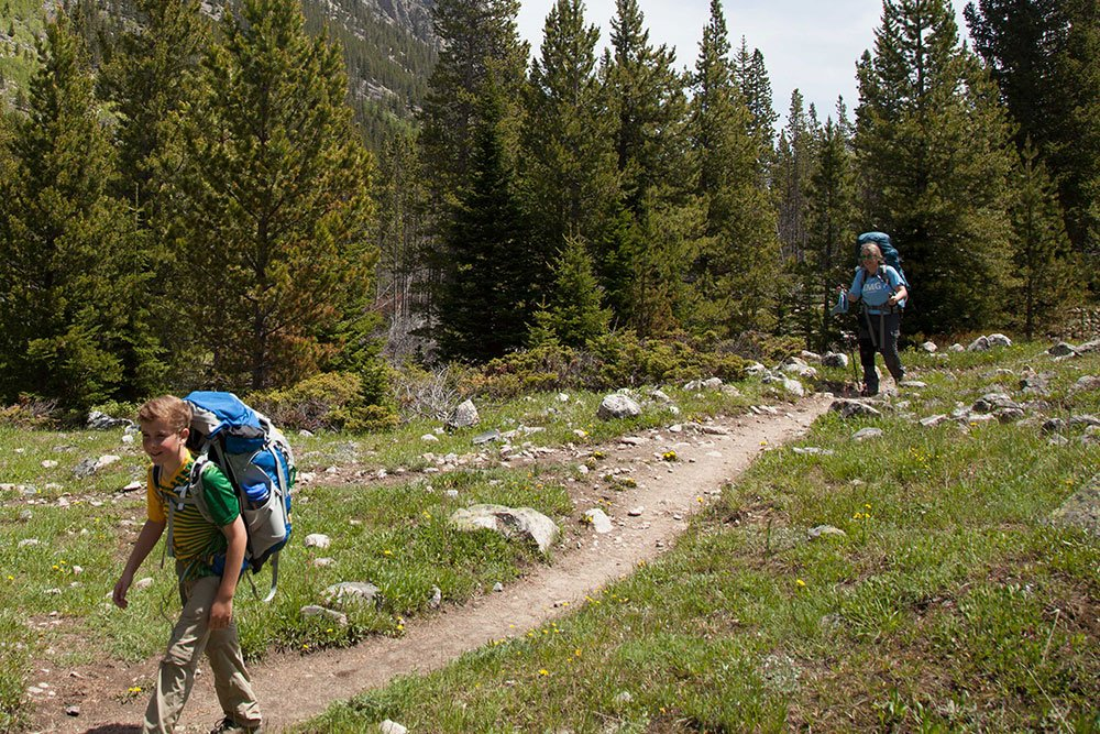 Backpacking in Yellowstone National Park, Montana, Big Sky, Bozeman, Montana Alpine Guides