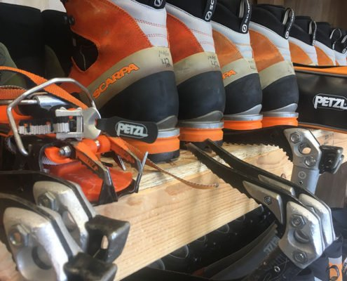 Gear Sale, Ice Climbing Boots, Used, Boot Rentals, Used Ice Climbing Boots, Bozeman, Big Sky, Montana, Hyalite Canyon