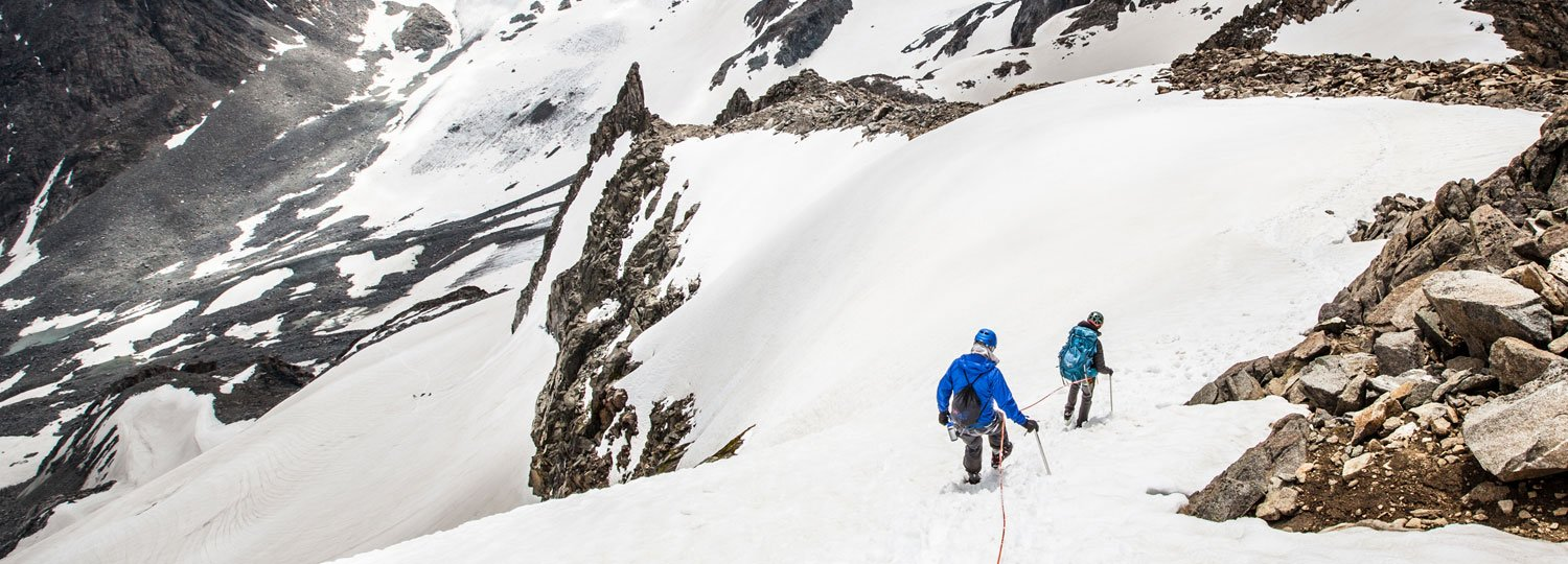 Gannett Peak Trip, Montana Alpine Guides, Goose neck couloir, mountaineering, wind river mountains, glacier travel