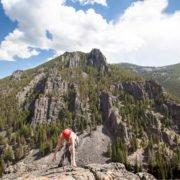 Rock Climbing, Bozeman, Big Sky, Montana, Climbing, Montana Alpine Guides, Rock Guides